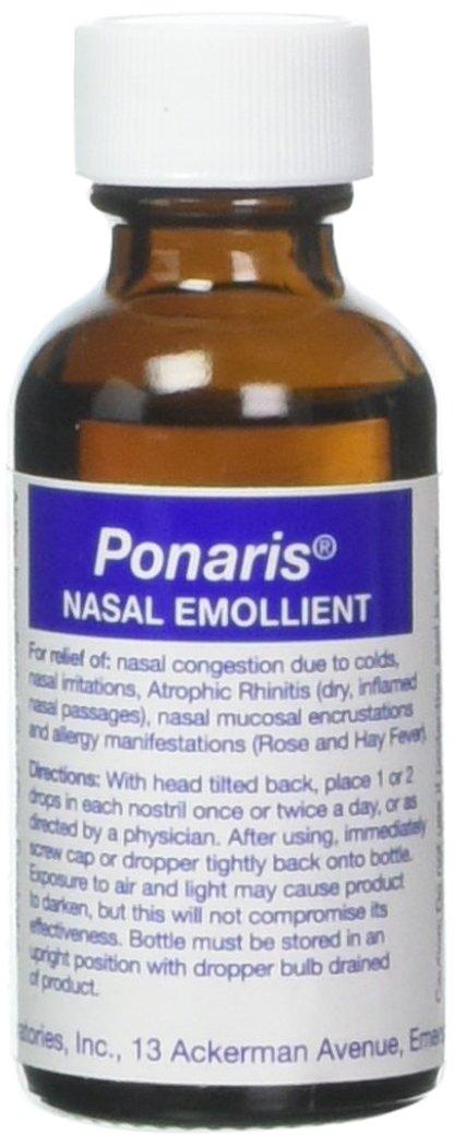 Ponaris Nasal Emolient, 1 oz