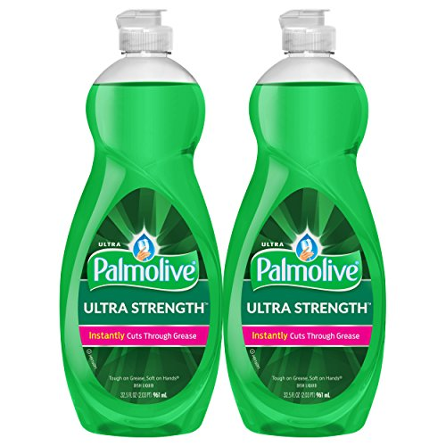 Palmolive Ultra Liquid Dish Soap, Original - 32.5 fluid ounce (Twin - Dishwashing Soap Palmolive
