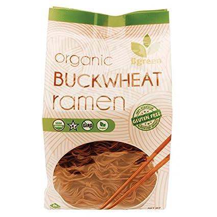 2PK Bgreen Organic Buckwheat Ramen, 9,8 oz! Vegano. Sin OMG ...
