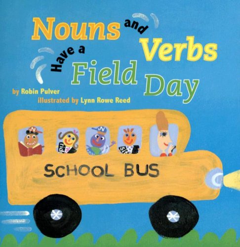 nouns and verbs book for kids