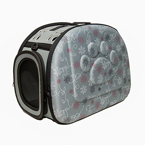 PetLike Airline Approved Pet Carrier Soft Sided Collapsible Travel Bag for Cats & Small Dogs