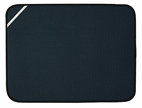 Envision Home 18-Inch by 24-Inch Microfiber Dish Drying Mat, X-Large, (Dish Drying Mats)