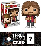 Mick Foley: Funko POP! WWE x WWE Vinyl Figure + 1 FREE Official WWE Trading Card Bundle (14250)