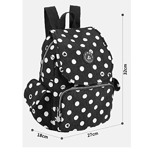 Mommy Bag Trompeta Multi-funcional De Alta Capacidad De La Madre Niño Paquete De La Mochila ( Color : Azul marino ) Pink