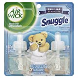Air Wick Scented Oil Twin Refill Snuggle Fresh Linen (2X.67) Oz. (Pack of 3)