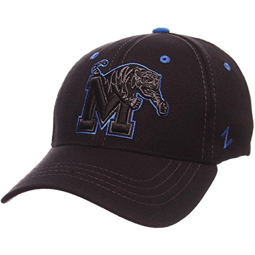 Zephyr Men's Memphis Tigers Element ZWOOL Stretch FIT HAT Black