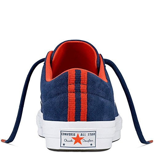 One Lifestyle Azul Ox Bright Poppy Suede Star White Converse Unisex Zapatillas Adulto Navy de 410 Deporte 5fBwqRAx