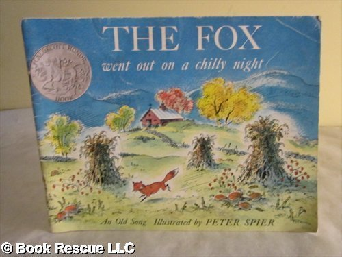 The Fox Went Out on a Chilly Night: An Old Song pdf epub