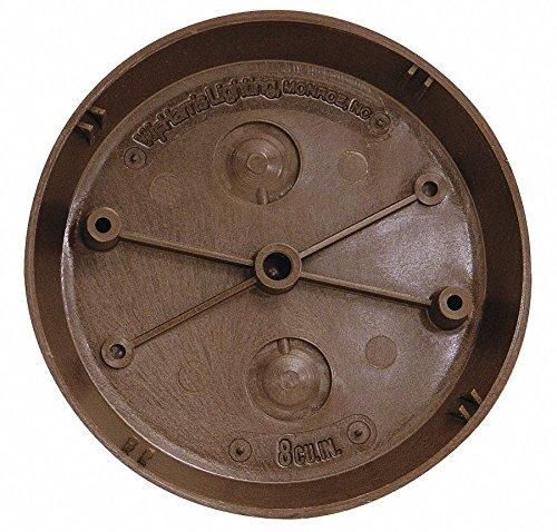 5'' x 5/8'' x 5'' Surface Mount Wiring Box, Bronze