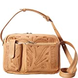 Ropin West Crossover Purse (Natural)
