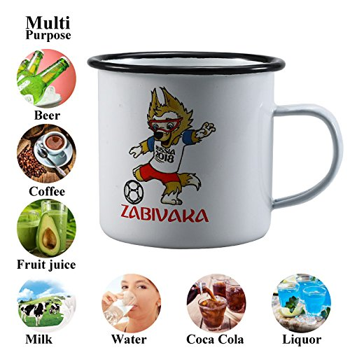 Mugs Football World Cup 2018   Ceramics Milk Mug World Football Beer Cups Creative Rolled Edge Home Office Drink Manufacture Unique Gift  Fifa World Cup Russia 2018