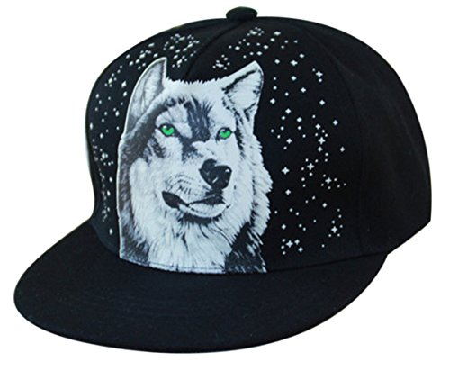 Thenice - Gorra de béisbol - para Hombre Lobo