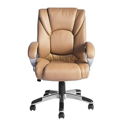 Amazing Aingoo Office Chair Vintage Executive Boss Chair Arm Pu Download Free Architecture Designs Grimeyleaguecom