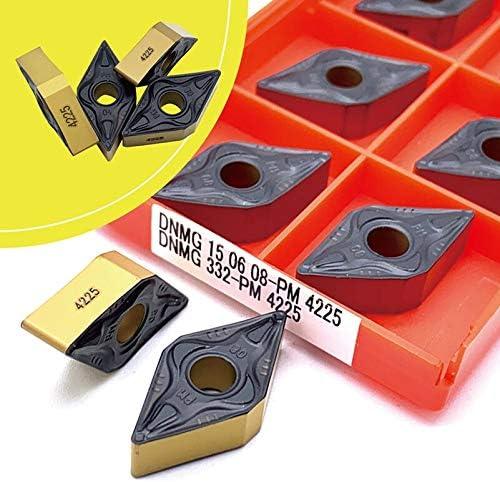 ohne 10 Stück DNMG150604 PM4225 DNMG 150608 PM 4225 Hartmetalleinsatz Drehwerkzeug Fräser CNC Schneidewerkzeug Externer Drehwerkzeug DNMG150608 Pm 4225