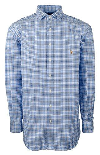 RALPH LAUREN Polo Men's Big & Tall Stretch Pinpoint Oxford Shirt-AN-Lt by RALPH LAUREN