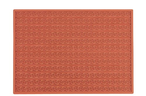 Martellato 11 Silicone Greek Square Relief Mat, 30 mm, Brown