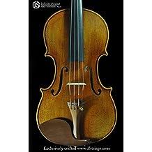 "Infinite Strings Bench Copy Premium Series Giuseppe Guarneri del Gesù 1743 ""Cannone"" Violin"
