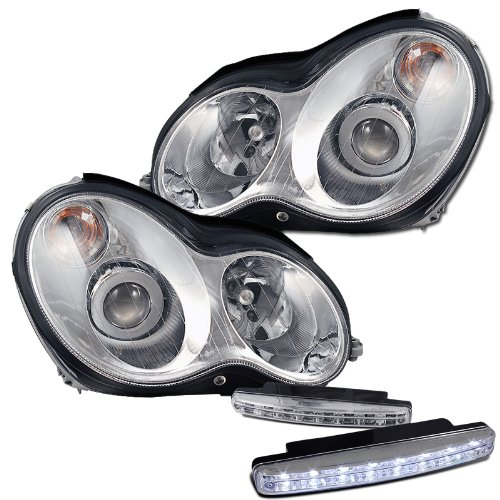 51feD2YWS2L amazon com mercedes benz c230 c240 c320 projector headlights 8  at creativeand.co