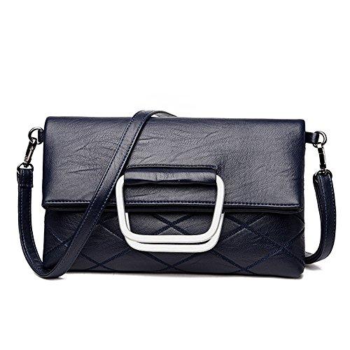 GWQGZ Nueva Lady'S Handbag Violeta Blue