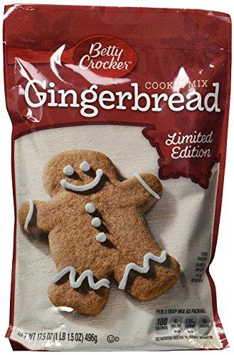 Betty Crocker Gingerbread Cookie Mix 17.5 Oz (Pack of 4)