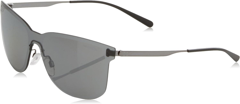 Arnette 0AN3074 502/6G 39 Gafas de sol, Gris (Gunmetal/Greymirrorsilver), Unisex-Adulto