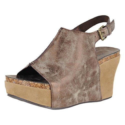 Pierre Dumas Womens Caprice-2 Slip-on Loafer Bronze