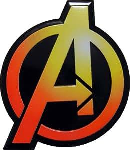 The AVENGERS Marvel Comics Superhero LARGE Logo Emblem Decal Badge