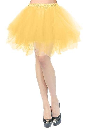 Cancan Enaguas falda vestido partido único midi Cancan 50s Retro ...