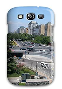 New HhkAfgh4464LOAmP Beijing City Skin Case Cover Shatterproof Case For Galaxy S3 Sending Free Screen Protector