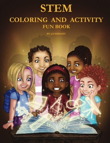 STEM Coloring and Activity Fun Book (Cute Hairstyles For 11 Year Olds For School)