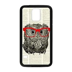 Custom Unique Design Dictionary Hipster Owl Samsung Galaxy S5 Case Dictionary Hipster Owl S5 Cover