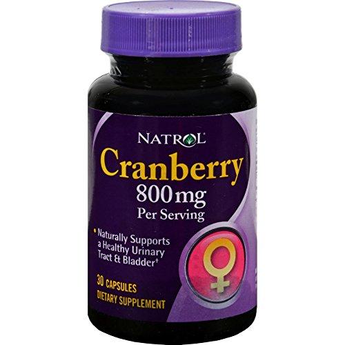 Cranberry 800 Milligrams 30 Capsules
