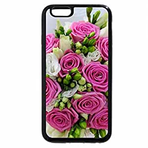 iPhone 6S / iPhone 6 Case (Black) Lovely bouquet