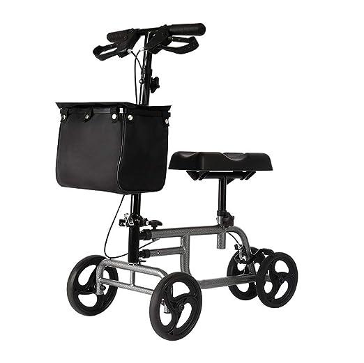 Andador plegable de rodilla Scooter orientable para lesiones de ...