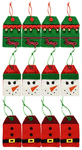 Set of 12 Christmas/Holiday Money/Gift Card Holder Gift Bags!