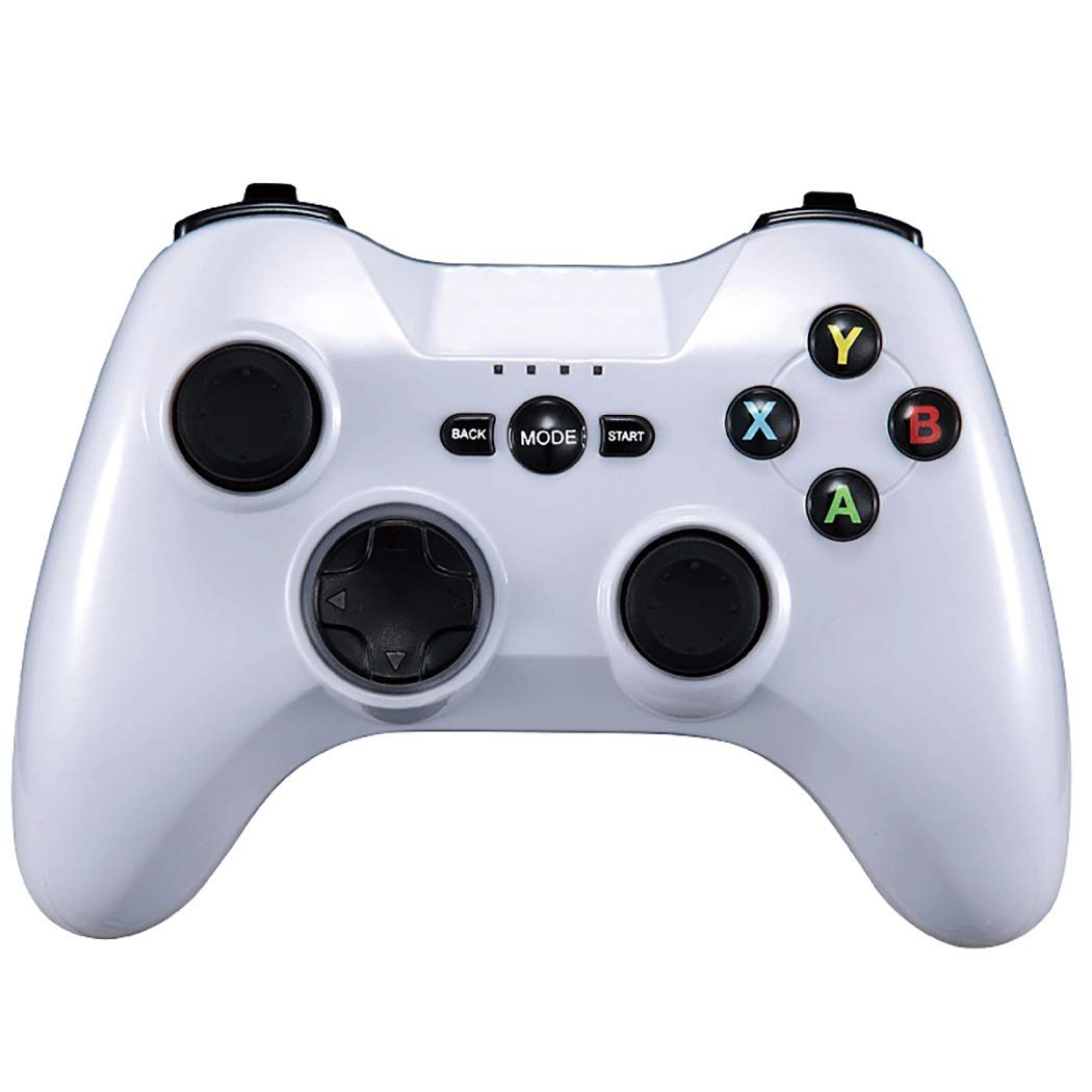 Bluetooth Gamepad 256-step Linear Pressure Trigger and Custom Modification Button (Color : Black)