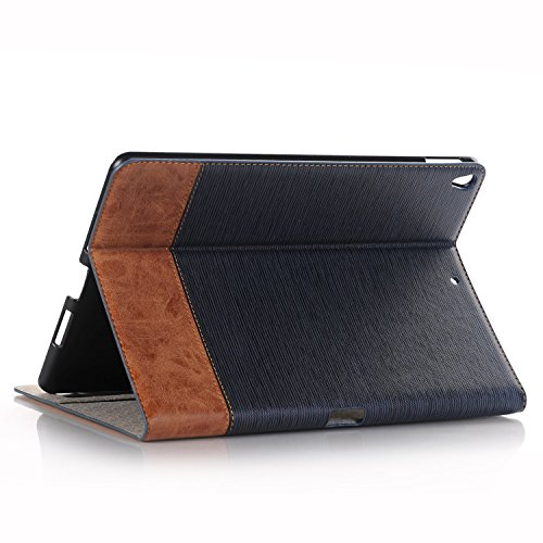 PC Hardware : 12.9 inch iPad Pro Case,Hulorry Slim Fit Heavy Duty Stand Vintage Style Slim Fit Hard Cover Protective Smart Case for iPad Pro12.9 inch Tablet