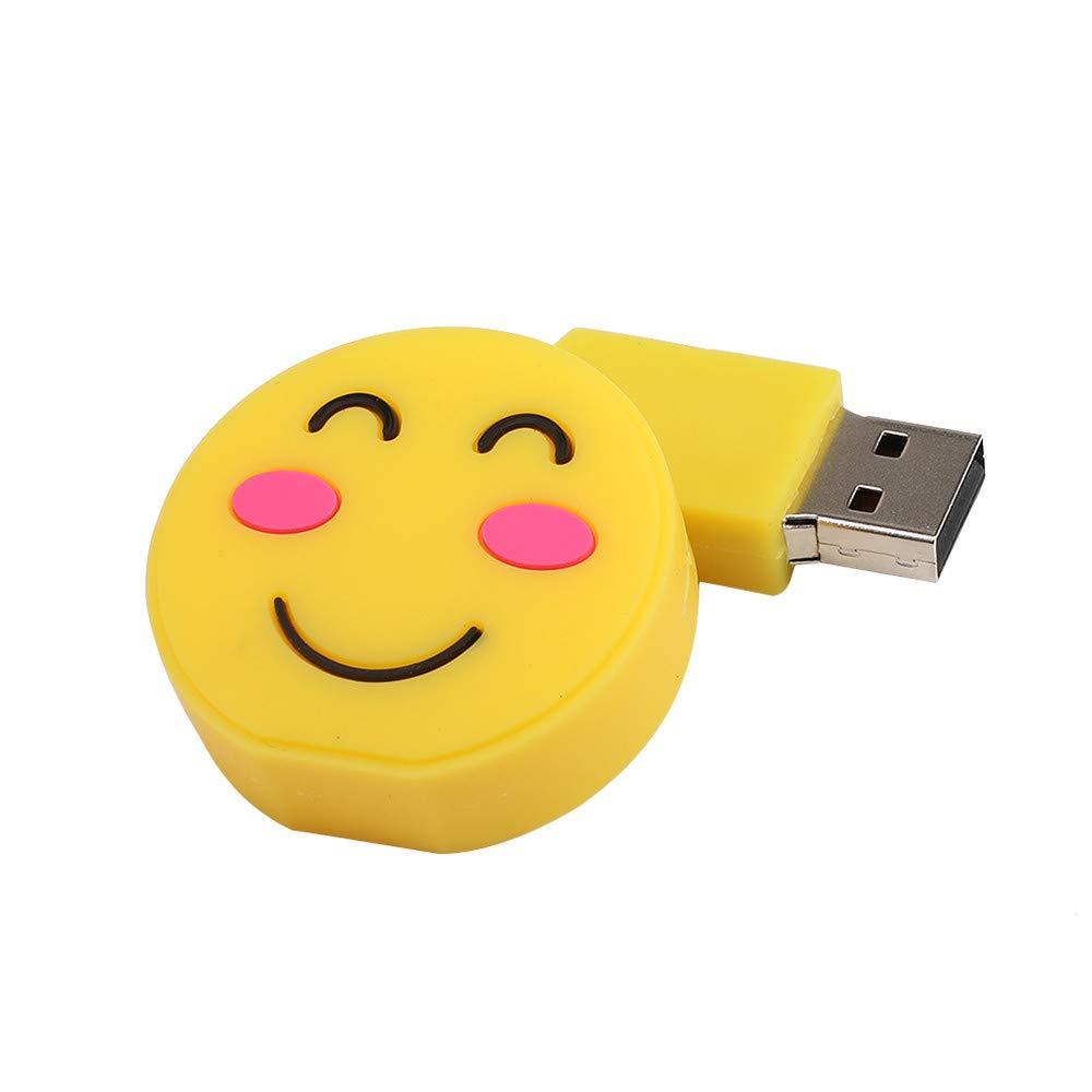 EUCoo 128M-128G Memoria USB 2.0 Digital U Disk Portátil Emoticon ...