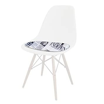 Eiffel X Chaise Adapté Tissu 4 News Coussin Style Klfj1c Mobistyl Promo ZOXiuPk