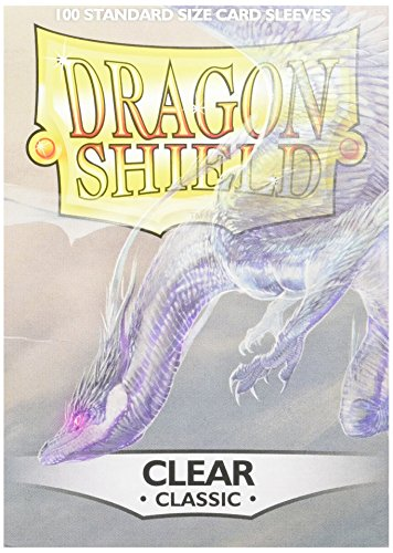 Dragon Shield Protective Sleeves (100-Pack), Clear - 100 Dragon Shield Sleeves