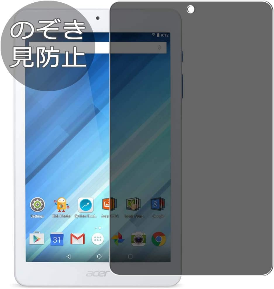 """Synvy Privacy Screen Protector Film for B1-850 Acer Iconia One 8 8"""" 0.14mm Anti Spy Protective Protectors [Not Tempered Glass]"""