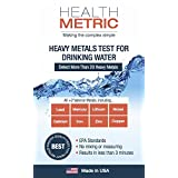 Drinking Water Test for Heavy Metals - a PRE-CHECK for 20+ metals including Lead, Copper, Iron, Aluminium Nickel and More