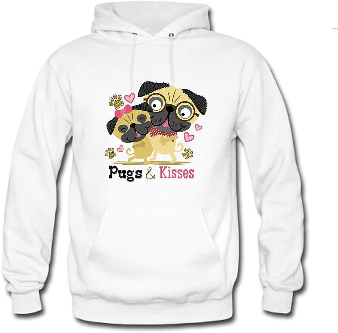 Bernie Gresham Pugs and Kisses Hoodie