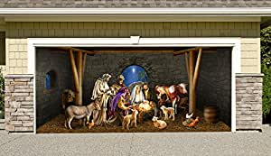 Amazon.com: Outdoor Decoration Nativity Scene Christmas ...