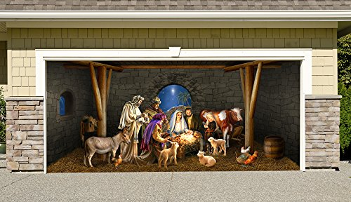 Outdoor Decoration Nativity Christmas Billboard