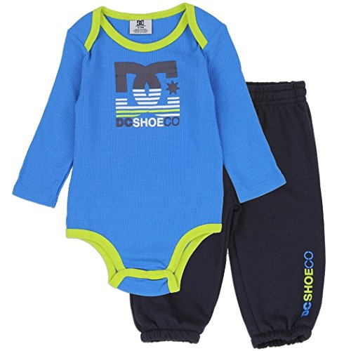 a4c75b6b15427 DC Shoe Co Baby Long-Sleeve Thermal Bodysuit and Pants Set