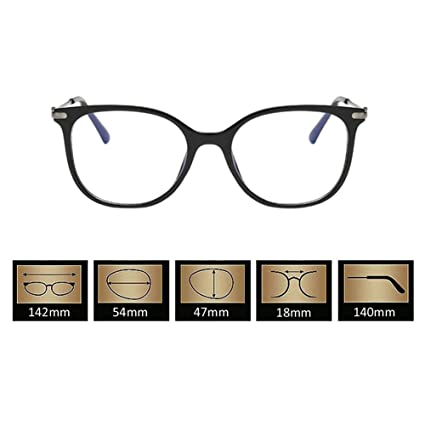 4851206b12 Xinvision TR90 Frame Short Sight Distance Myopia Eyewear Vintage Nearsighted  Glasses Power -1.0~-6.0 (These are not reading glasses)  Amazon.co.uk   Clothing