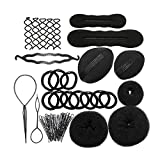pixnor PIXNOR Hair Styling Accessories Kit Set for DIY