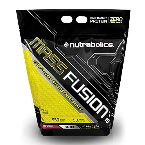 Nutrabolics Mass Fusion Strawberry 16lb (29 Servings) For Sale