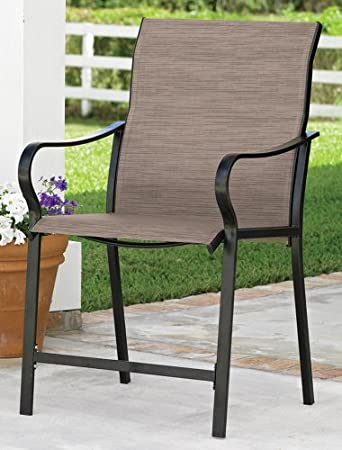 Extra Wide High Back Patio Chair (Khaki)